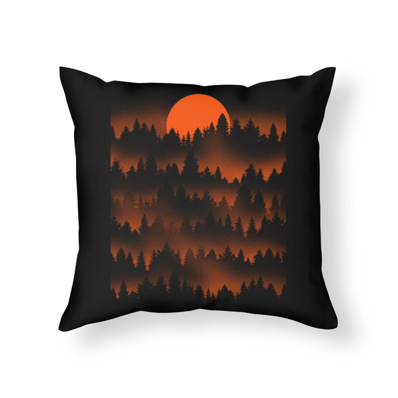 Incendio Home Throw Pillow by Tobe Fonseca's Artist Shop