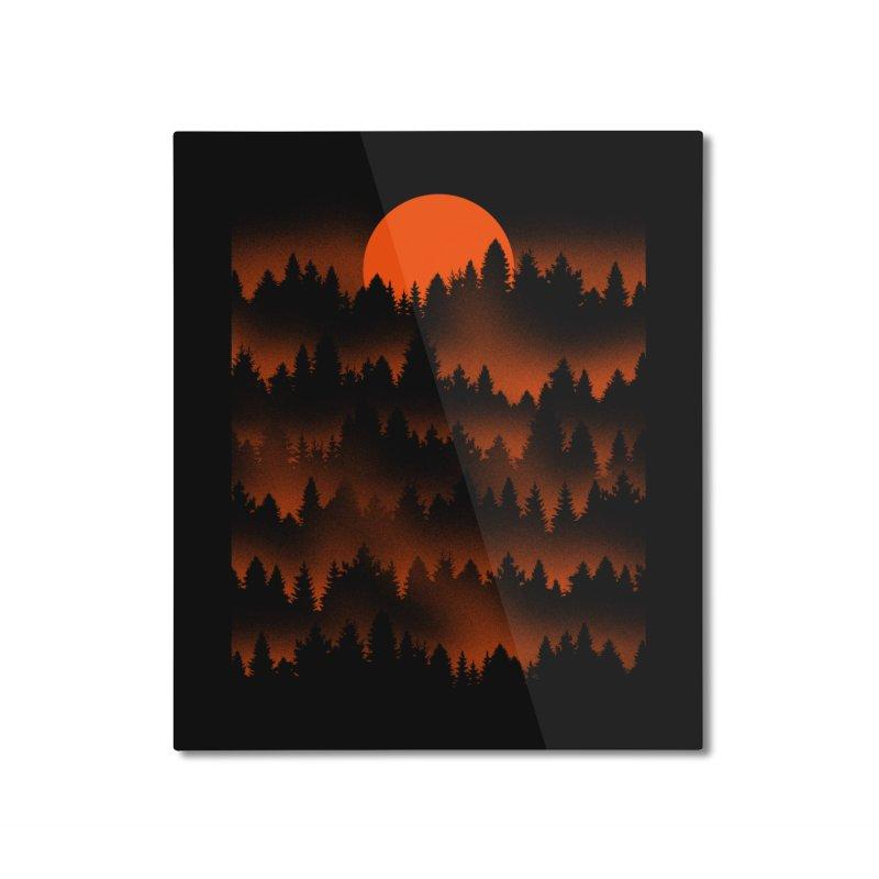 Incendio Home Mounted Aluminum Print by Tobe Fonseca's Artist Shop