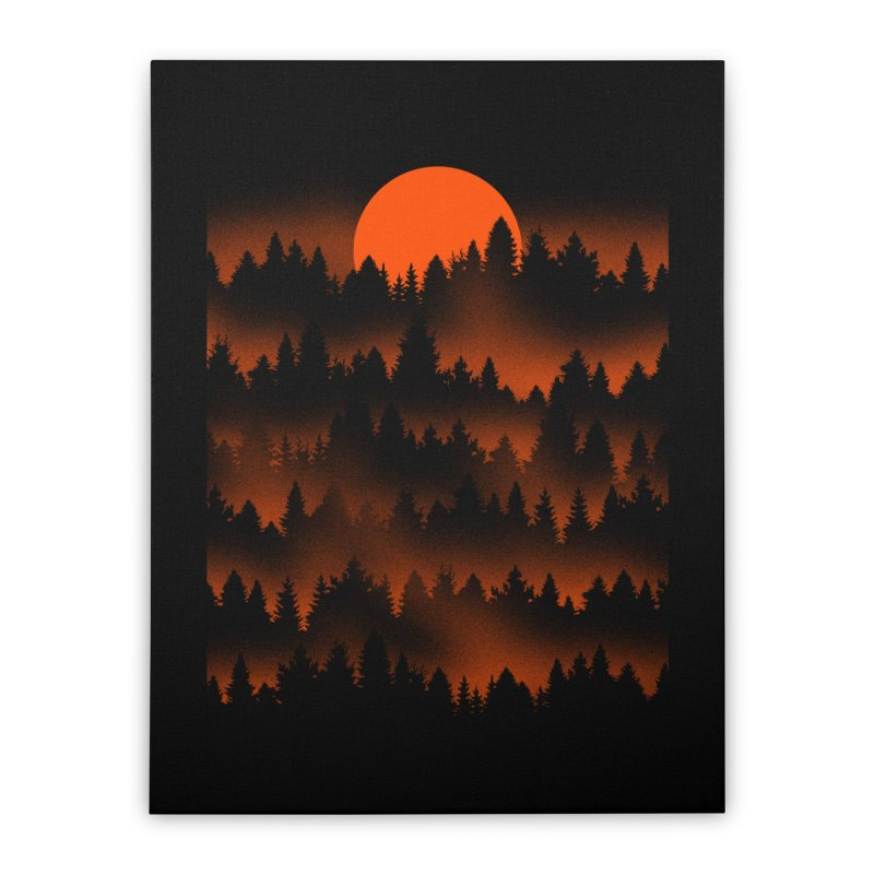 Incendio Home Stretched Canvas by Tobe Fonseca's Artist Shop