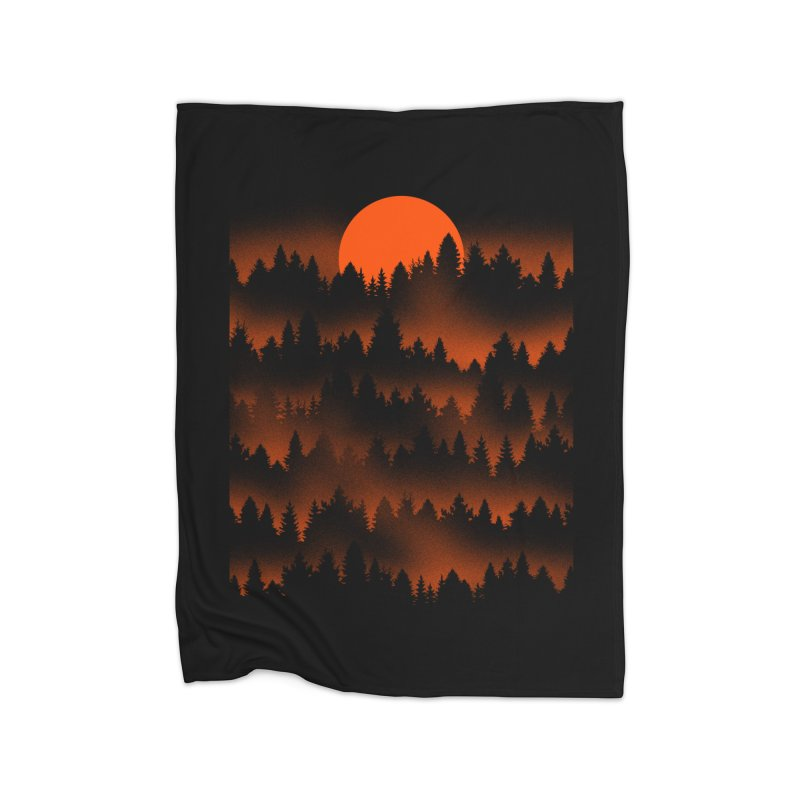 Incendio Home Blanket by Tobe Fonseca's Artist Shop