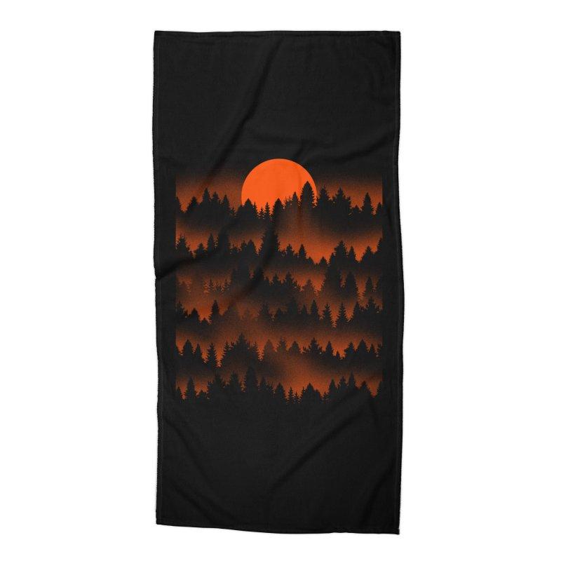 Incendio Accessories Beach Towel by Tobe Fonseca's Artist Shop
