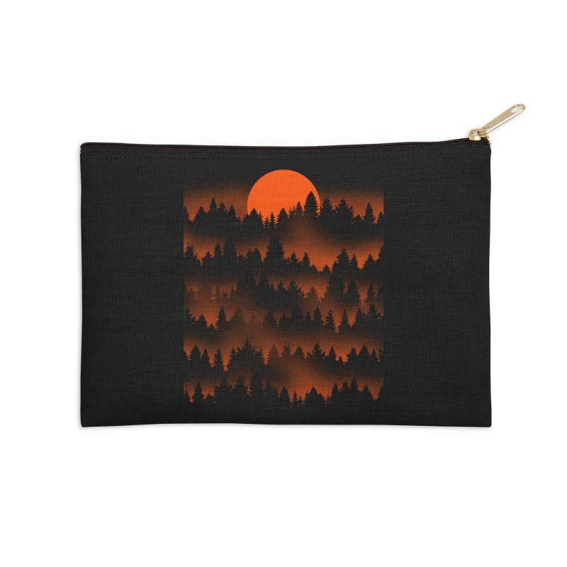 Incendio Accessories Zip Pouch by Tobe Fonseca's Artist Shop