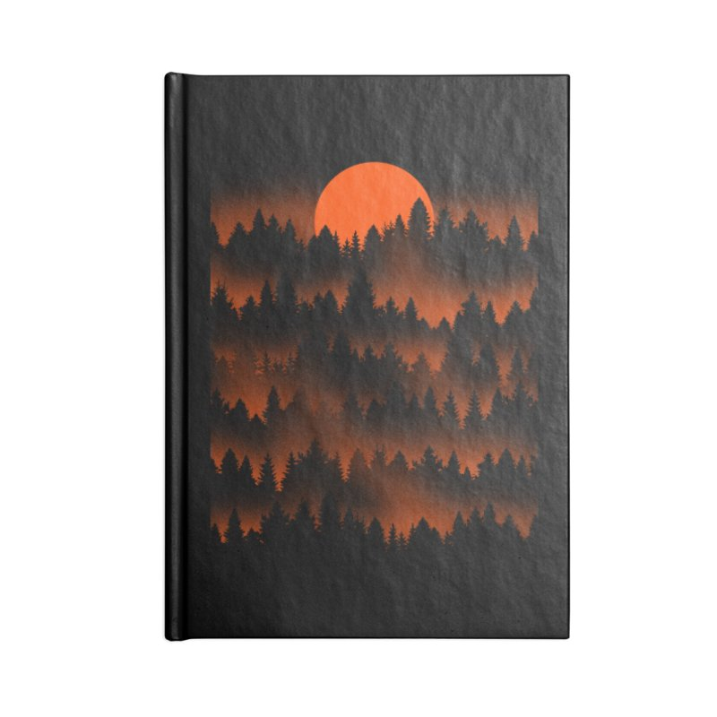 Incendio Accessories Notebook by Tobe Fonseca's Artist Shop