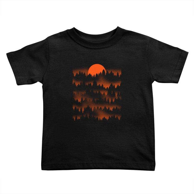 Incendio Kids Toddler T-Shirt by Tobe Fonseca's Artist Shop