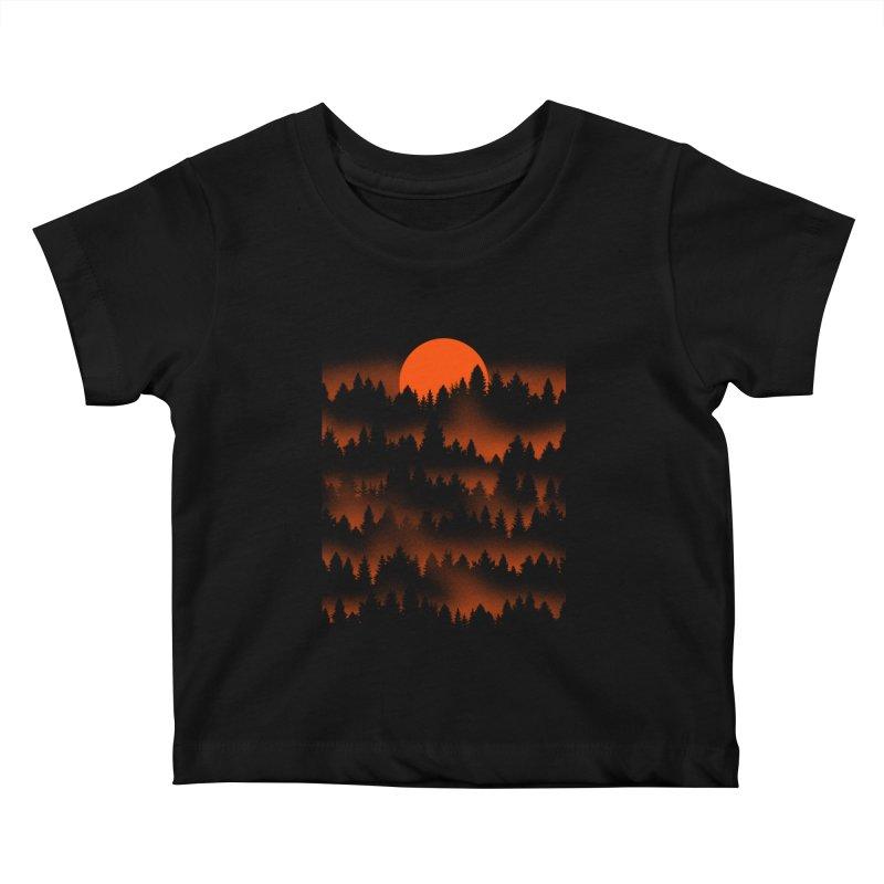 Incendio Kids Baby T-Shirt by Tobe Fonseca's Artist Shop