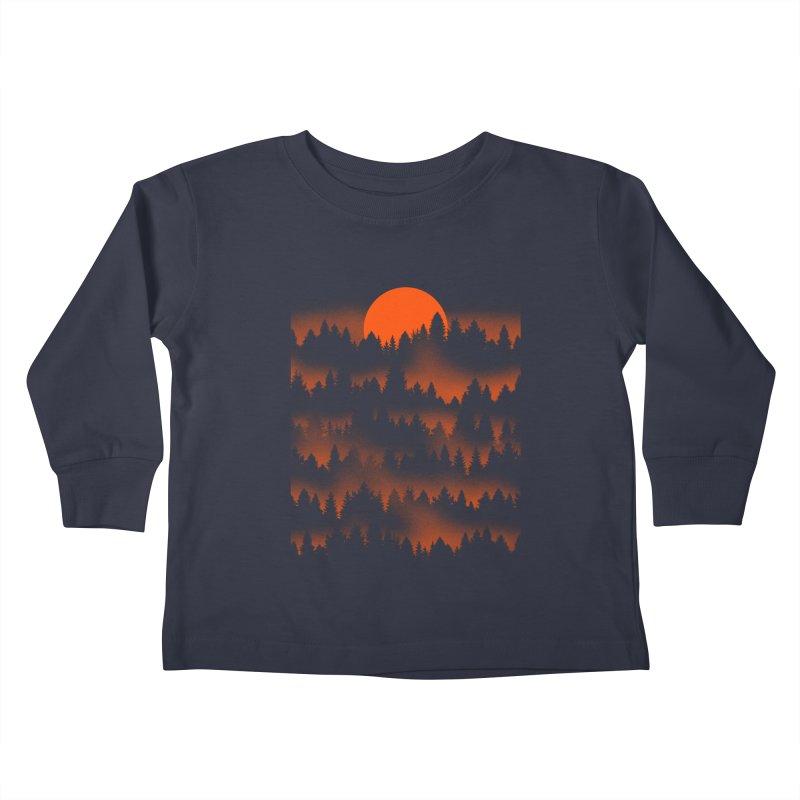 Incendio Kids Toddler Longsleeve T-Shirt by Tobe Fonseca's Artist Shop