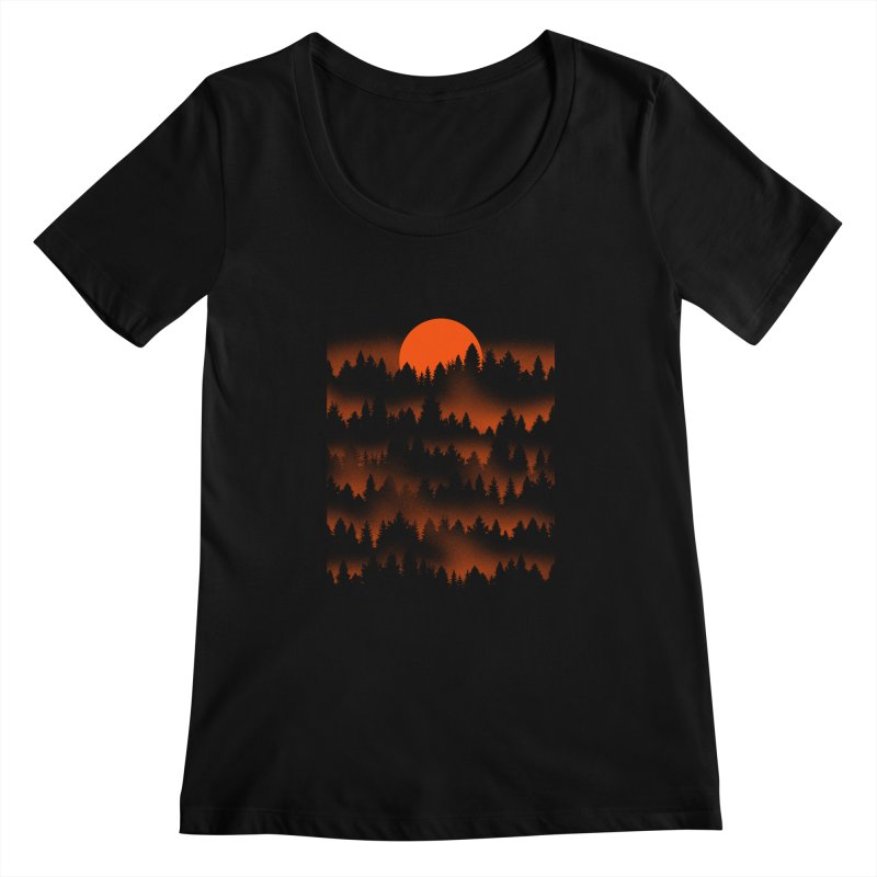 Incendio Women's Scoopneck by Tobe Fonseca's Artist Shop