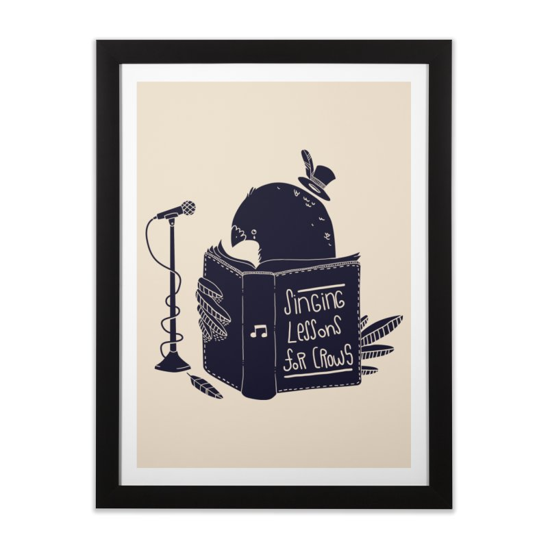 Singing Lessons Home Framed Fine Art Print by Tobe Fonseca's Artist Shop