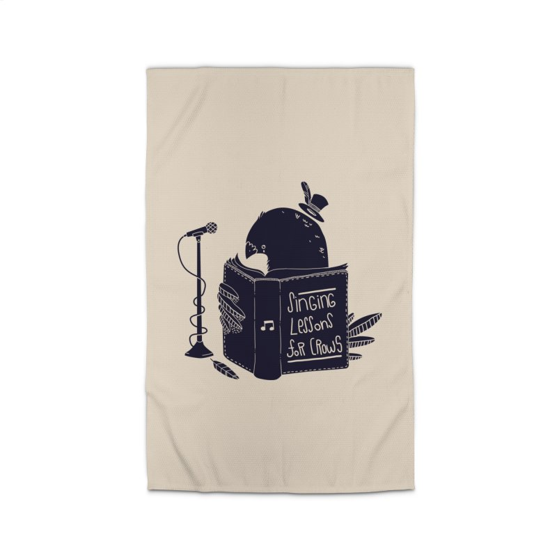 Singing Lessons Home Rug by Tobe Fonseca's Artist Shop