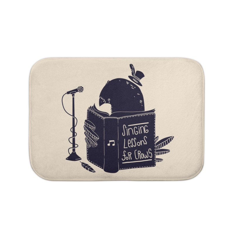 Singing Lessons Home Bath Mat by Tobe Fonseca's Artist Shop