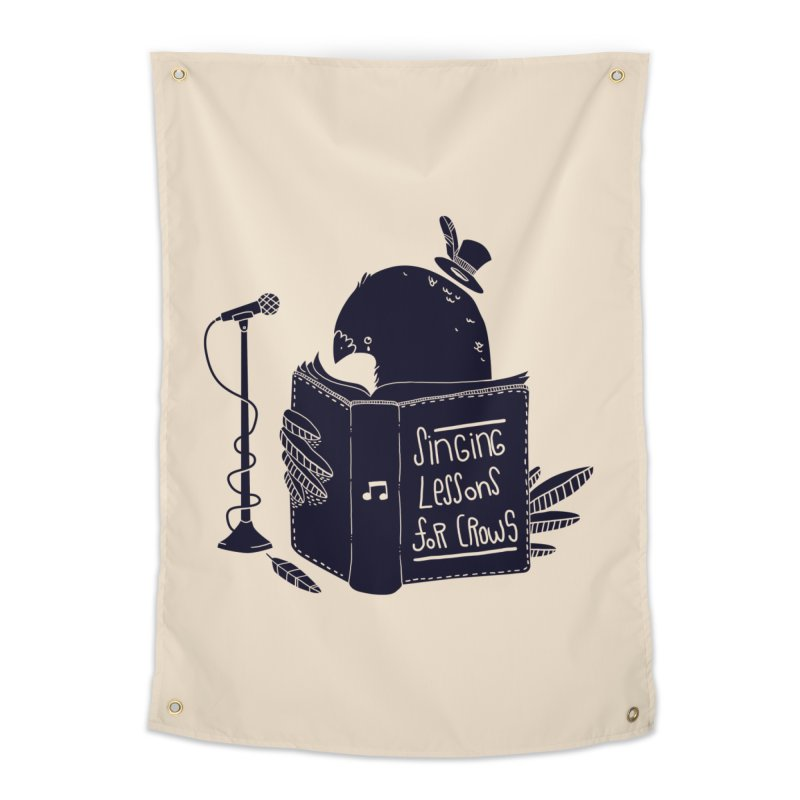 Singing Lessons Home Tapestry by Tobe Fonseca's Artist Shop