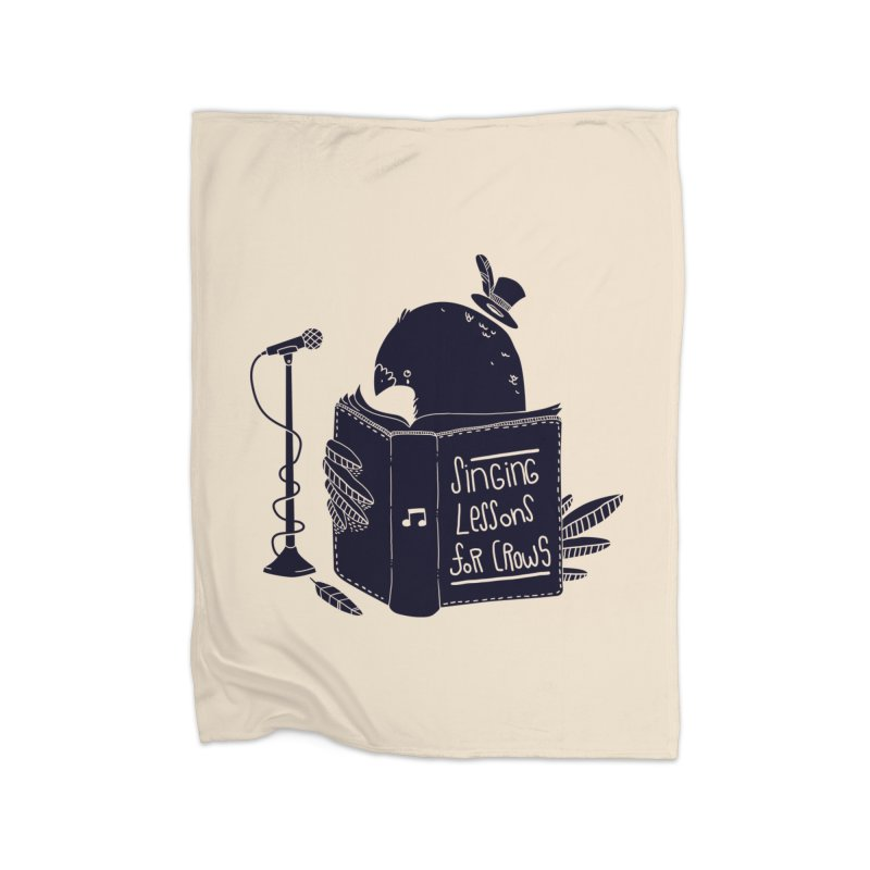 Singing Lessons Home Blanket by Tobe Fonseca's Artist Shop