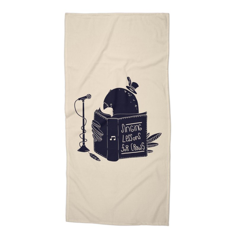 Singing Lessons Accessories Beach Towel by Tobe Fonseca's Artist Shop