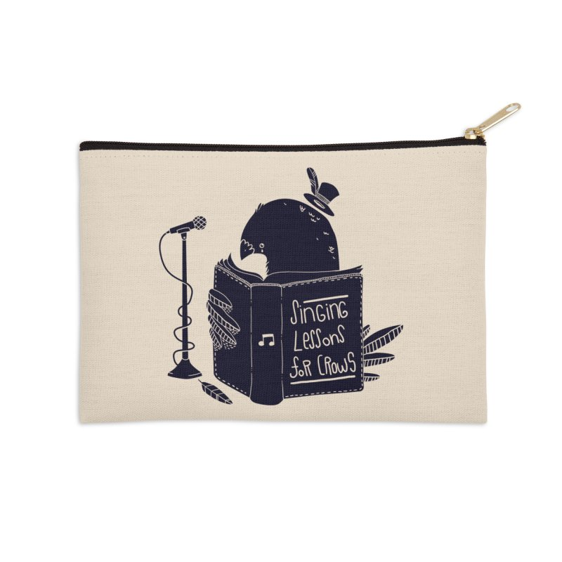 Singing Lessons Accessories Zip Pouch by Tobe Fonseca's Artist Shop