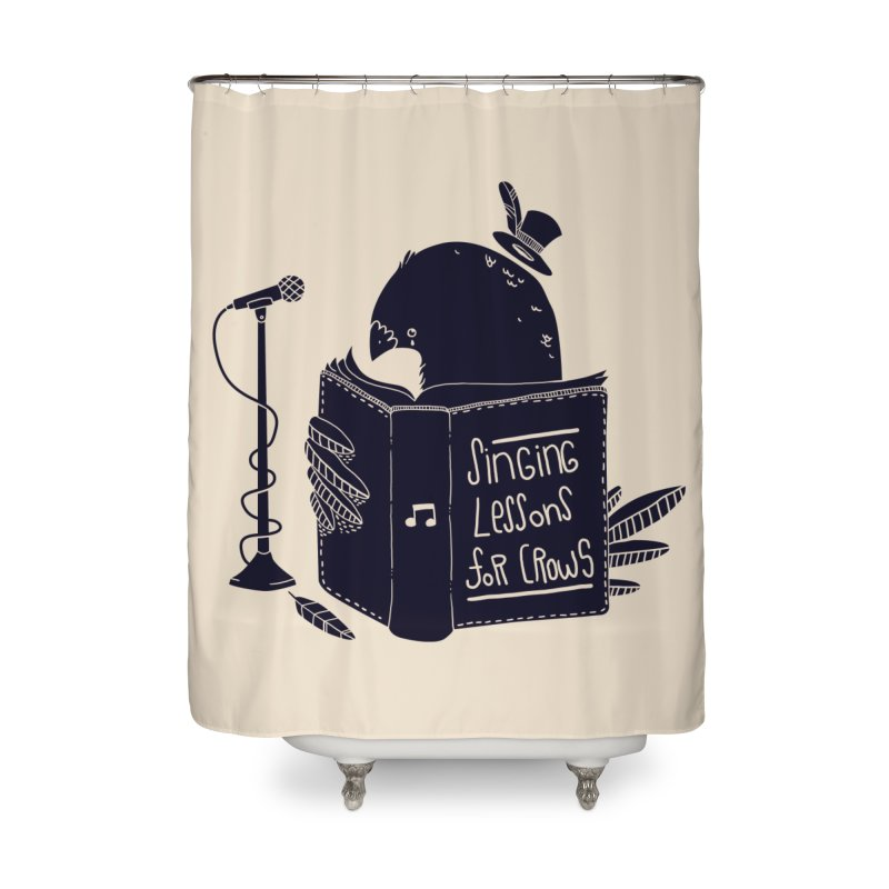 Singing Lessons Home Shower Curtain by Tobe Fonseca's Artist Shop