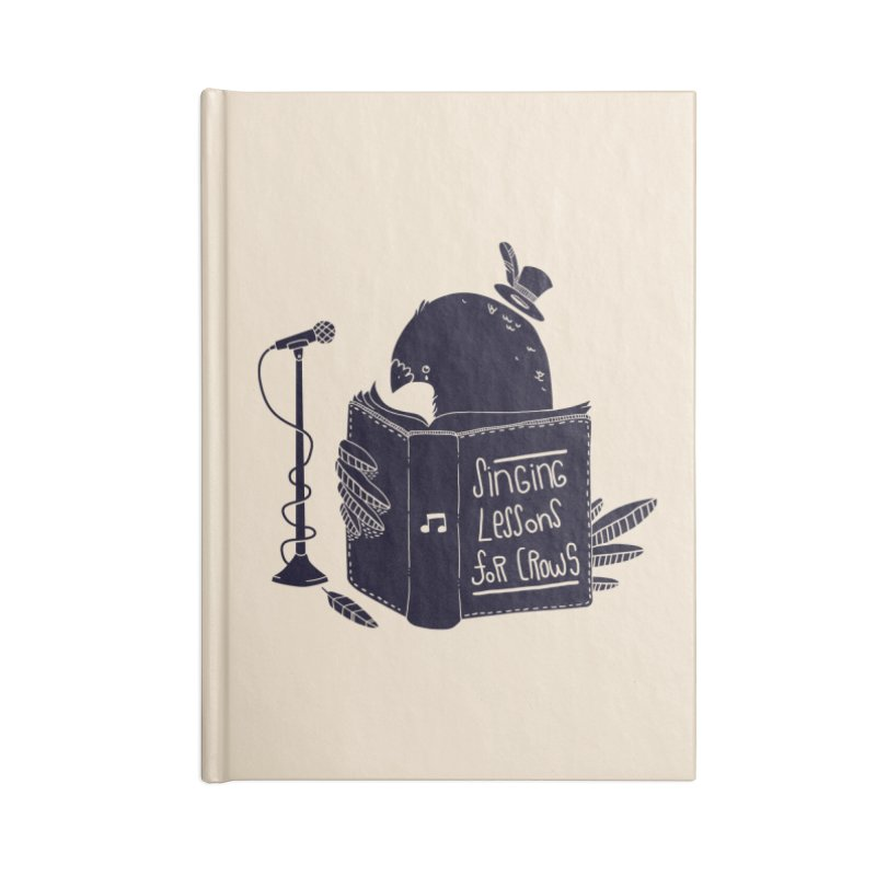 Singing Lessons Accessories Notebook by Tobe Fonseca's Artist Shop