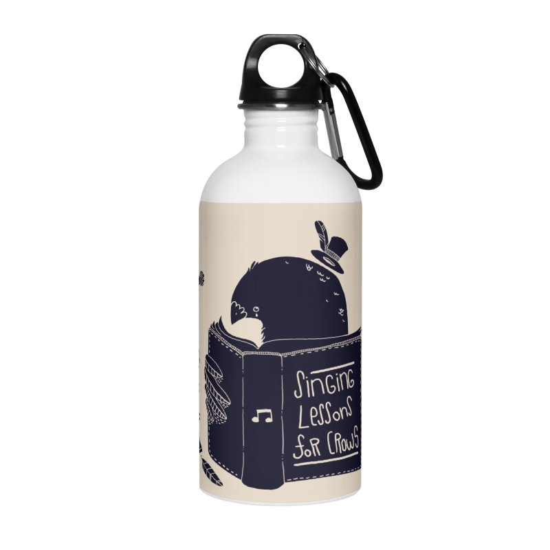 Singing Lessons Accessories Water Bottle by Tobe Fonseca's Artist Shop