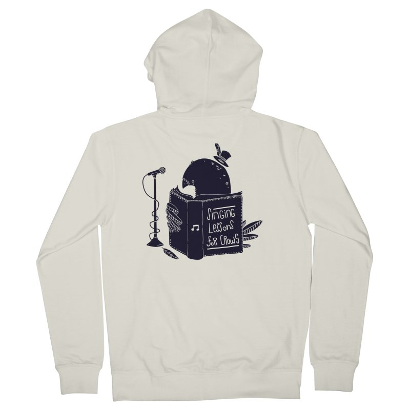 Singing Lessons Women's Zip-Up Hoody by Tobe Fonseca's Artist Shop