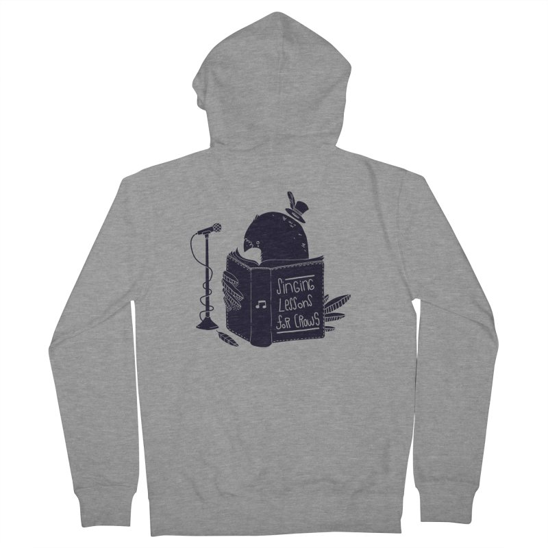 Singing Lessons Men's Zip-Up Hoody by Tobe Fonseca's Artist Shop