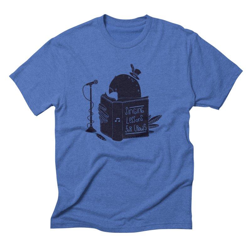 Singing Lessons Men's Triblend T-Shirt by Tobe Fonseca's Artist Shop