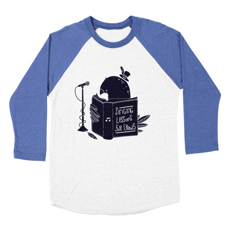 Singing Lessons Men's Baseball Triblend T-Shirt by Tobe Fonseca's Artist Shop