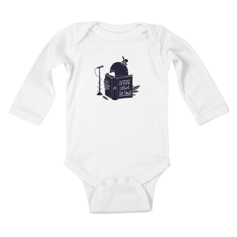 Singing Lessons Kids Baby Longsleeve Bodysuit by Tobe Fonseca's Artist Shop