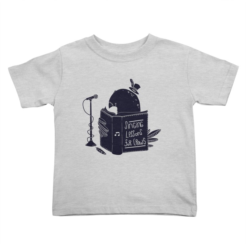 Singing Lessons Kids Toddler T-Shirt by Tobe Fonseca's Artist Shop