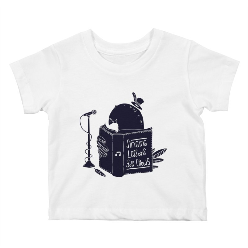 Singing Lessons Kids Baby T-Shirt by Tobe Fonseca's Artist Shop
