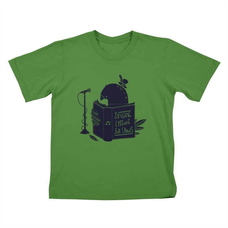 Singing Lessons Kids T-Shirt by Tobe Fonseca's Artist Shop
