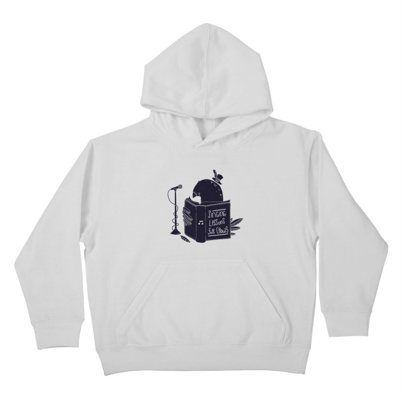 Singing Lessons Kids Pullover Hoody by Tobe Fonseca's Artist Shop