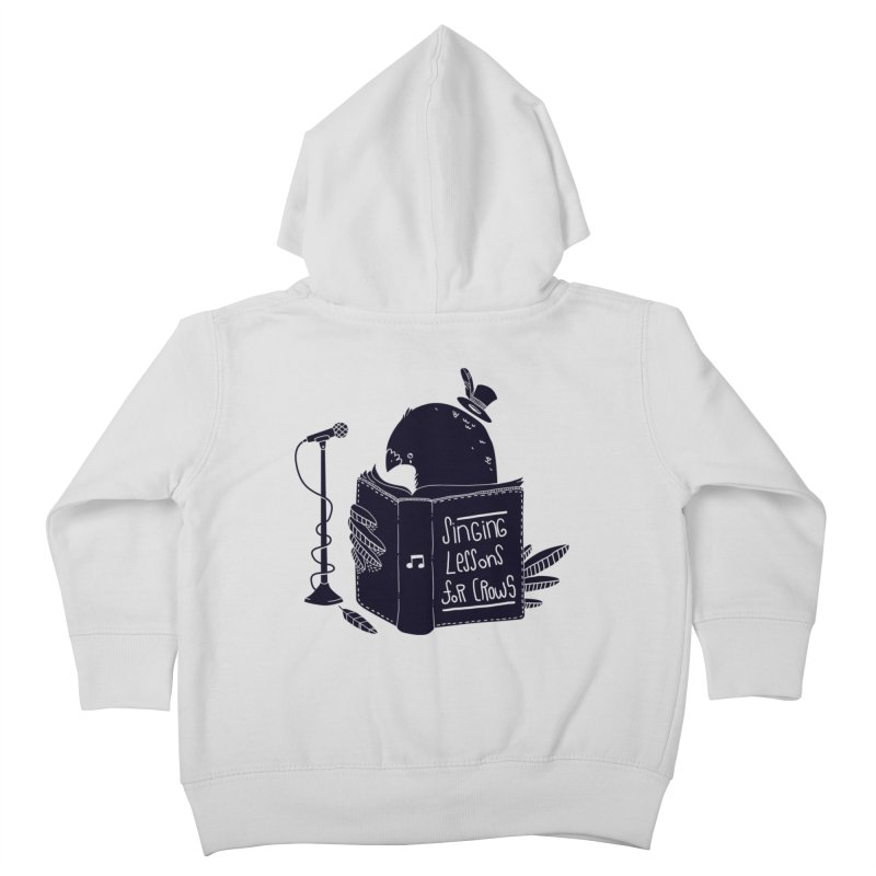 Singing Lessons Kids Toddler Zip-Up Hoody by Tobe Fonseca's Artist Shop