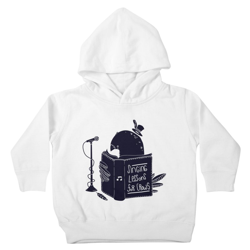 Singing Lessons Kids Toddler Pullover Hoody by Tobe Fonseca's Artist Shop