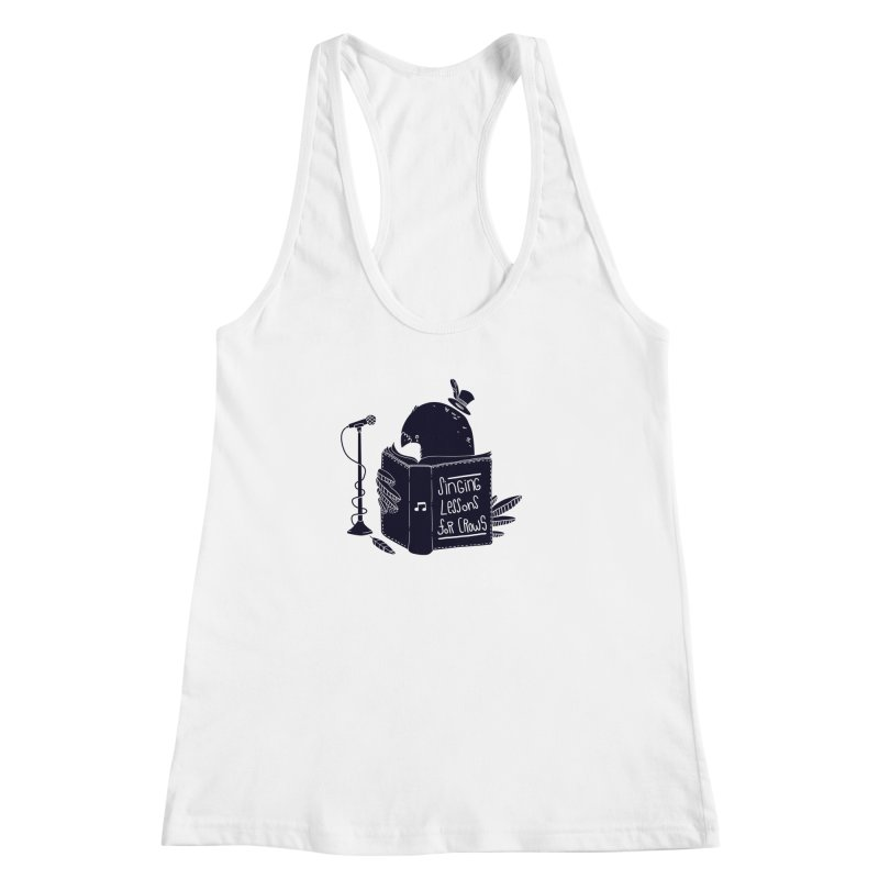 Singing Lessons Women's Racerback Tank by Tobe Fonseca's Artist Shop