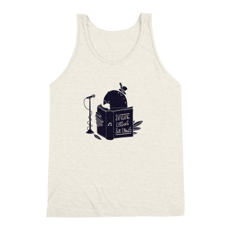 Singing Lessons Men's Triblend Tank by Tobe Fonseca's Artist Shop
