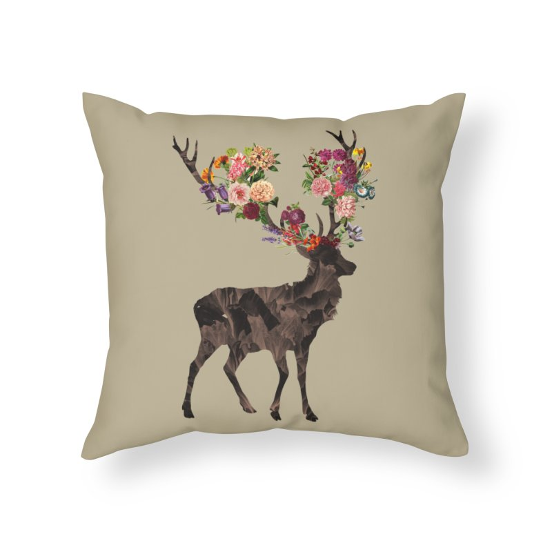 Spring Itself Home Throw Pillow by Tobe Fonseca's Artist Shop