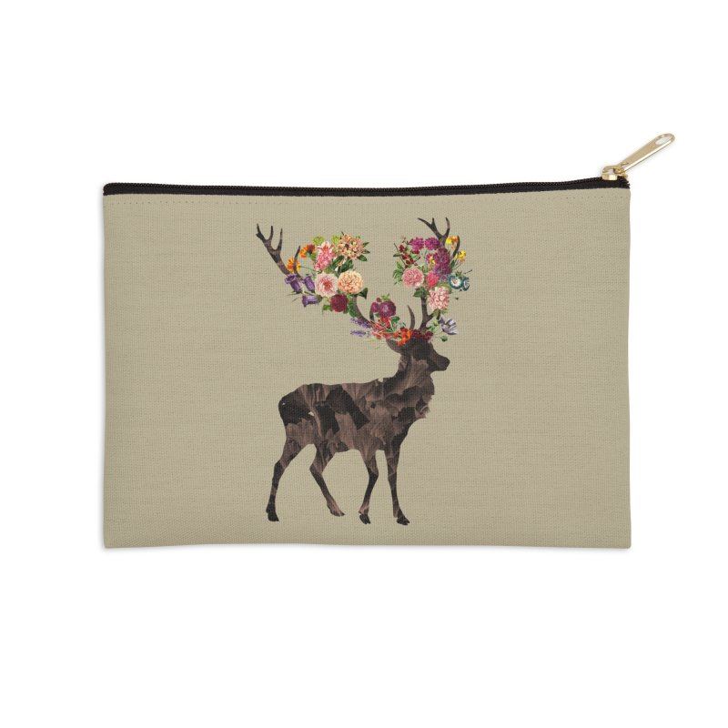 Spring Itself Accessories Zip Pouch by Tobe Fonseca's Artist Shop