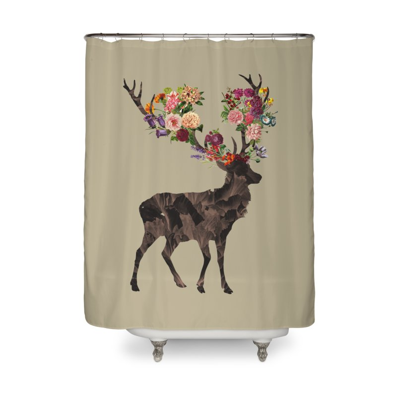 Spring Itself Home Shower Curtain by Tobe Fonseca's Artist Shop