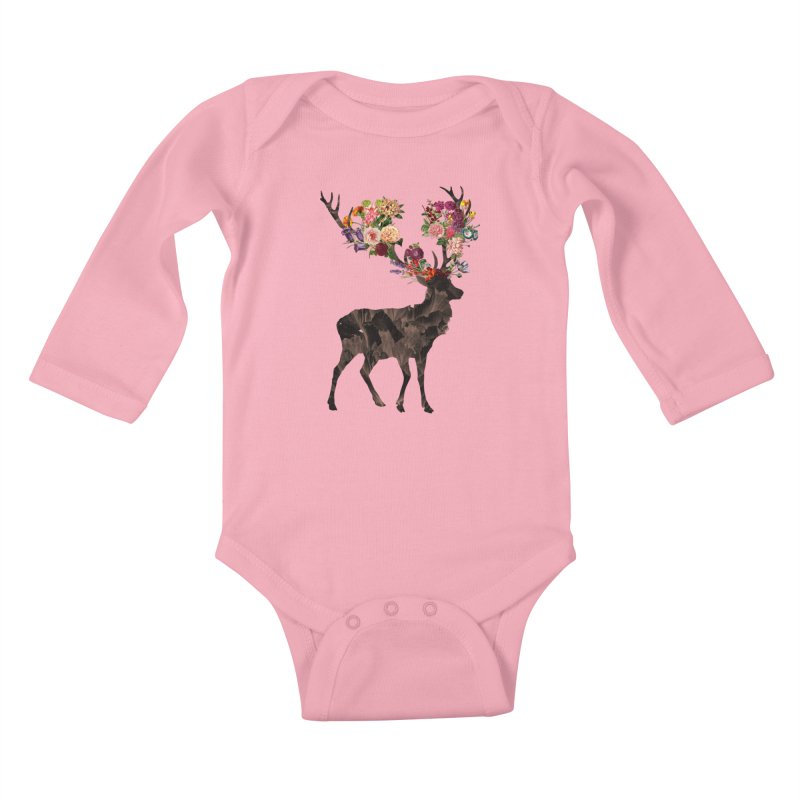 Spring Itself Kids Baby Longsleeve Bodysuit by Tobe Fonseca's Artist Shop