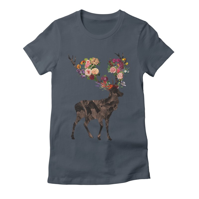 Spring Itself Women's Fitted T-Shirt by Tobe Fonseca's Artist Shop