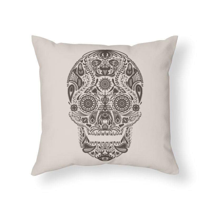 DIA DE LOS MUERTOS Home Throw Pillow by Tobe Fonseca's Artist Shop