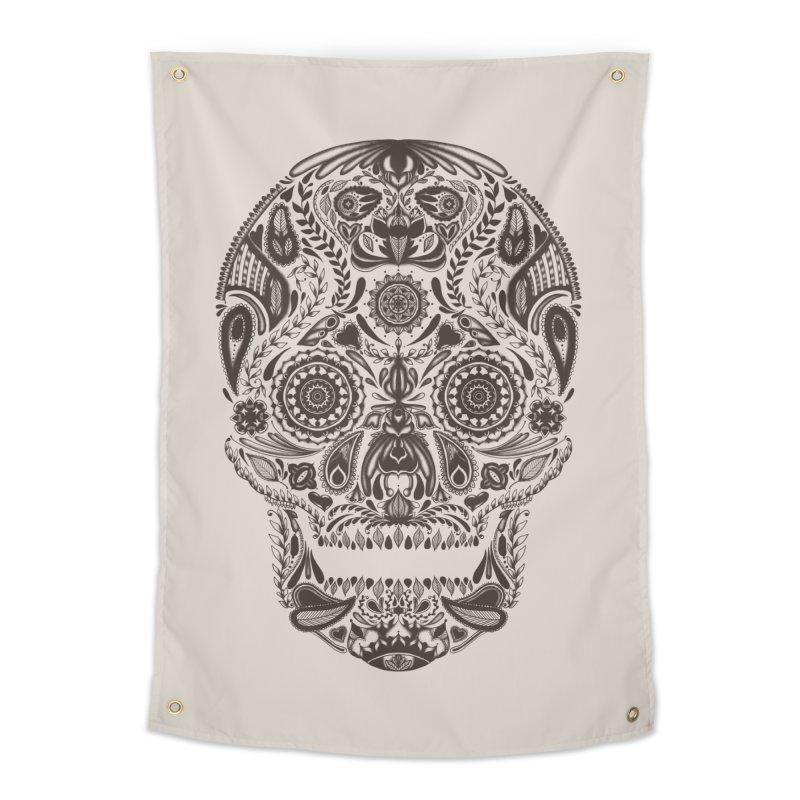 DIA DE LOS MUERTOS Home Tapestry by Tobe Fonseca's Artist Shop