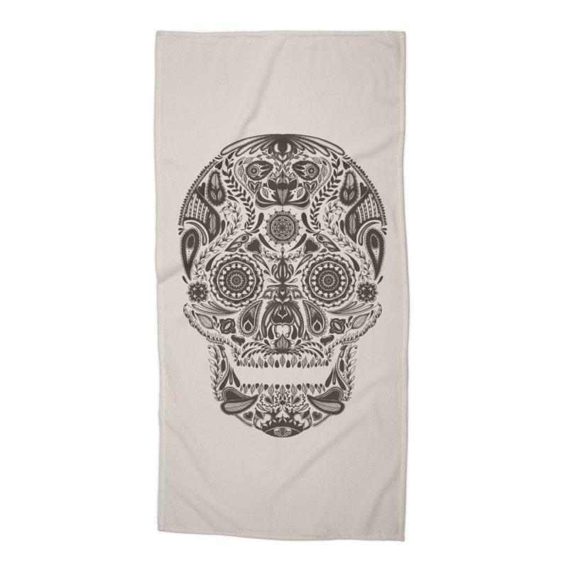 DIA DE LOS MUERTOS Accessories Beach Towel by Tobe Fonseca's Artist Shop