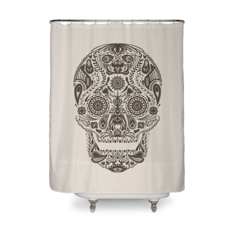 DIA DE LOS MUERTOS Home Shower Curtain by Tobe Fonseca's Artist Shop