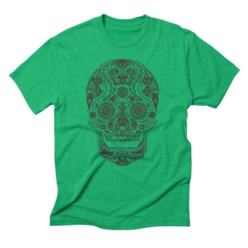 DIA DE LOS MUERTOS Men's Triblend T-Shirt by Tobe Fonseca's Artist Shop
