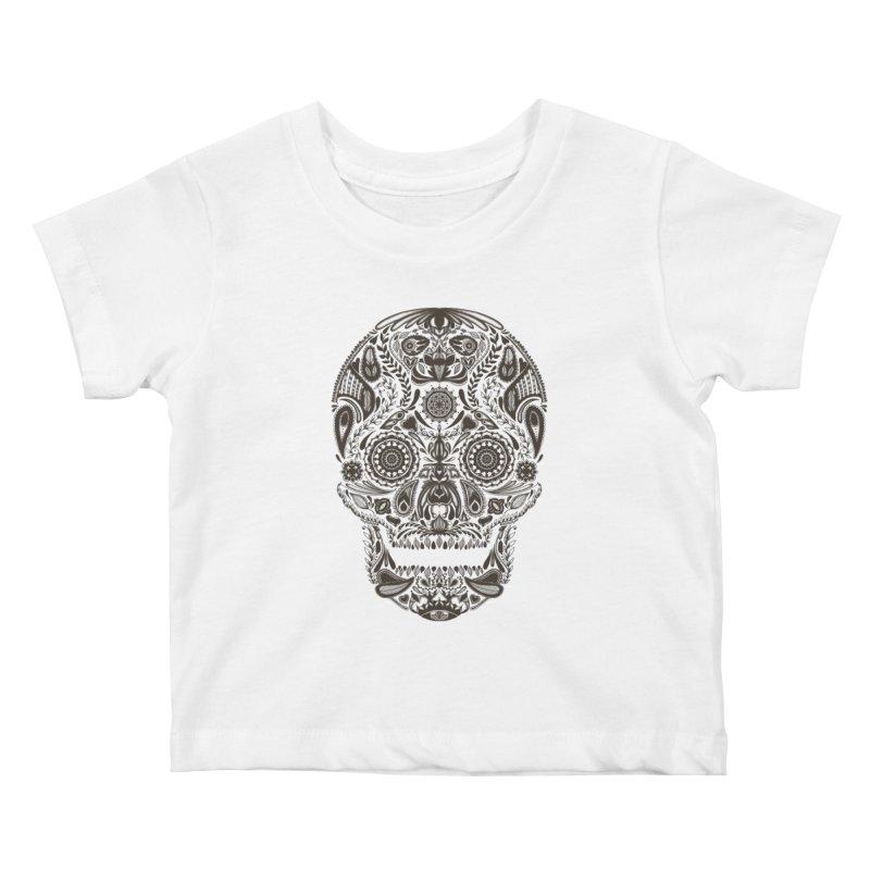 DIA DE LOS MUERTOS Kids Baby T-Shirt by Tobe Fonseca's Artist Shop