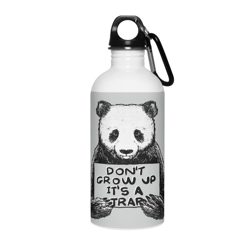 Don't grow up its a trap Accessories Water Bottle by Tobe Fonseca's Artist Shop