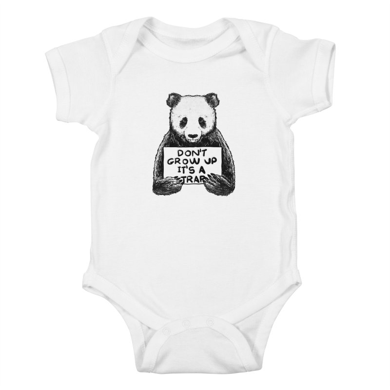 Don't grow up its a trap Kids Baby Bodysuit by Tobe Fonseca's Artist Shop