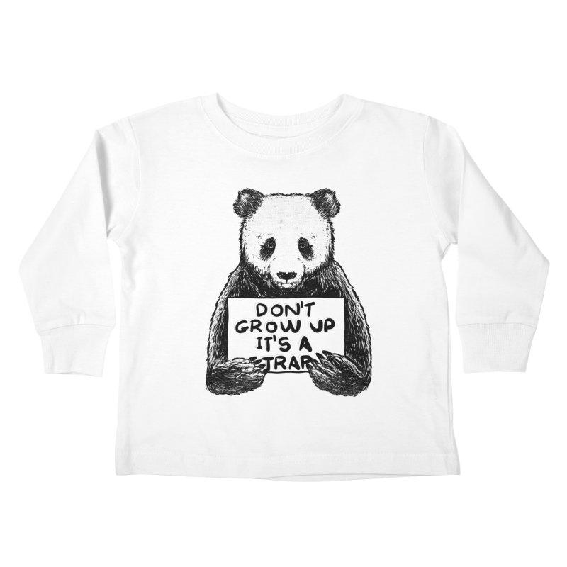 Don't grow up its a trap Kids Toddler Longsleeve T-Shirt by Tobe Fonseca's Artist Shop