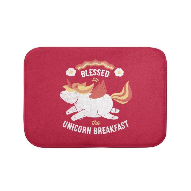 Bacon Breakfast Home Bath Mat by Tobe Fonseca's Artist Shop
