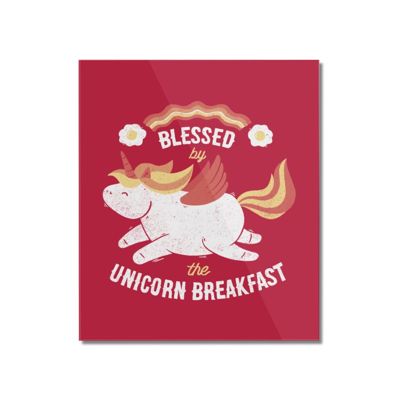 Bacon Breakfast Home Mounted Acrylic Print by Tobe Fonseca's Artist Shop